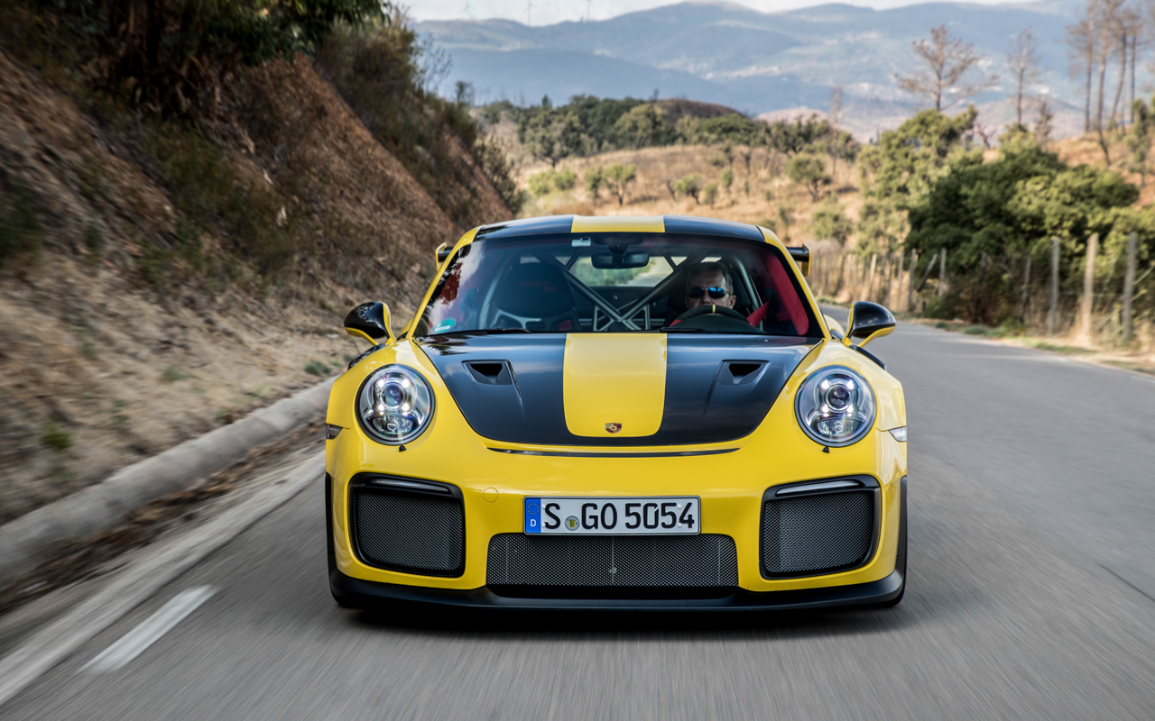 Whizzing About Southern Portugal In The Porsche 911 Gt2 Rs