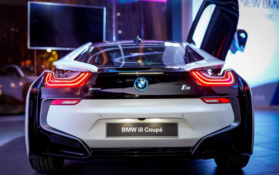 Bmw Group Malaysia Introduces The New Bmw I8 Coupe