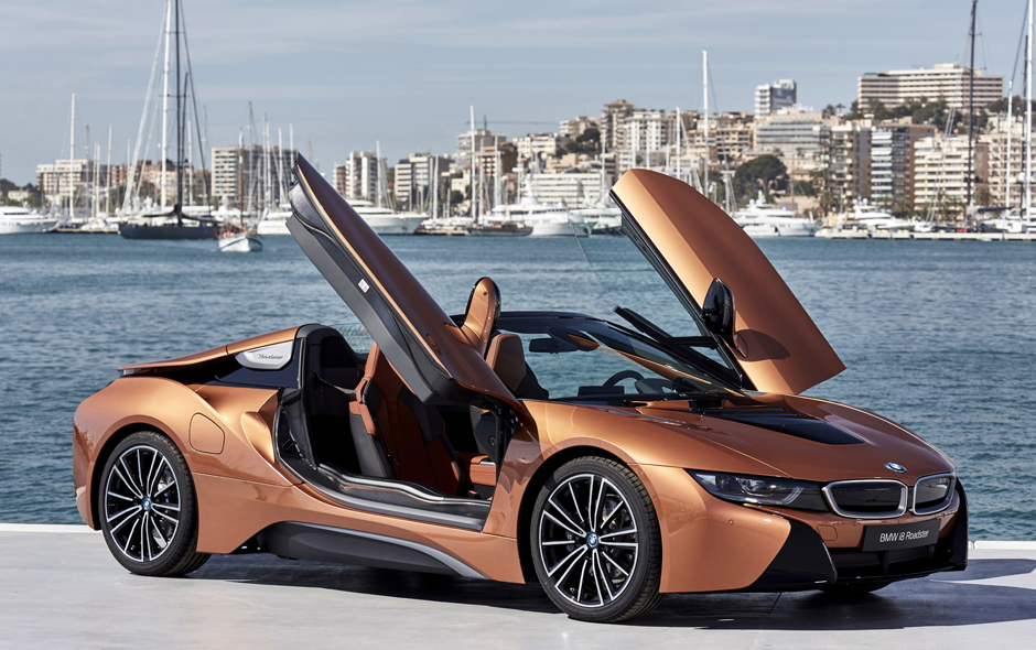 The New Bmw I8 Roadster In Brief